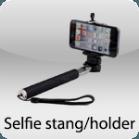 Selfie stang/holder