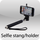 Selfie stang/holder