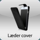 Læder cover/etui