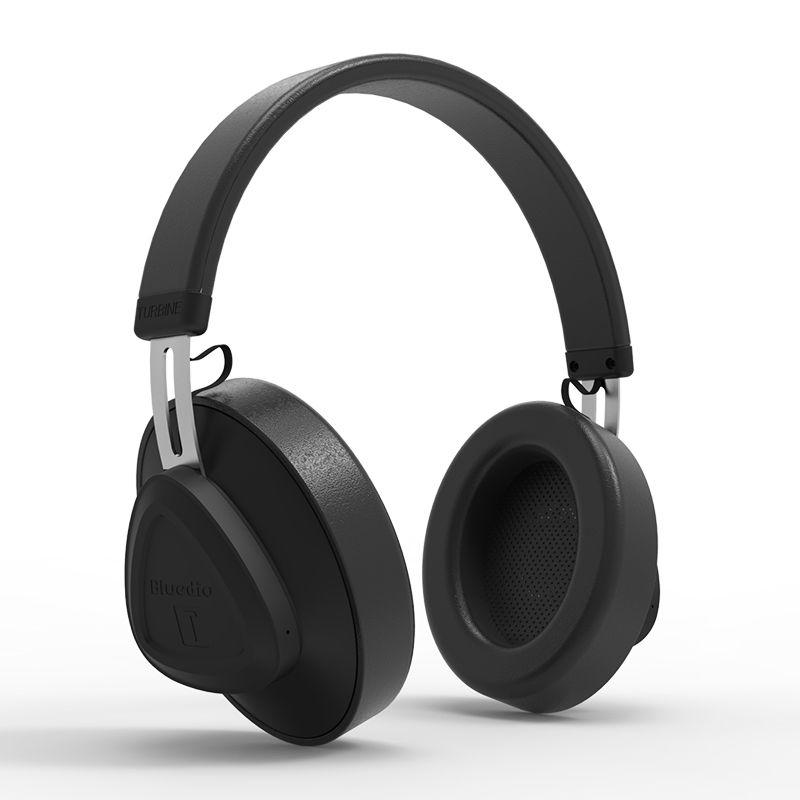 Billede af BLUEDIO TM - Turbine 57mm Driver Bluetooth 5.0 Over-Ear Høretelefoner - Sort