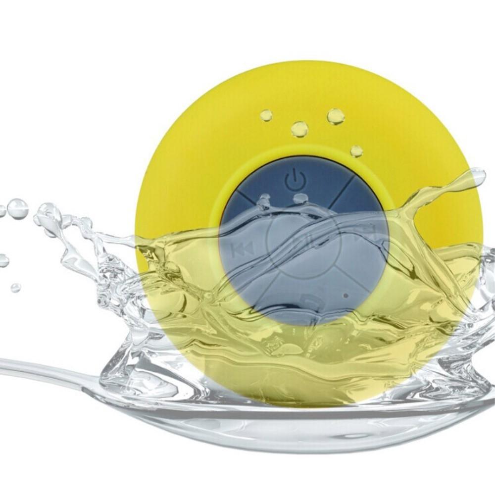 Image of   H2O Sound Vandtæt Højttaler til badet - Gul