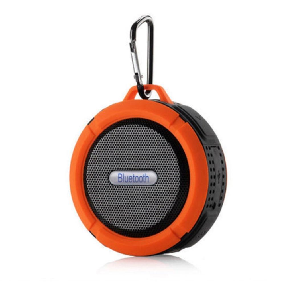 Image of   H20 OutDoor - Vandtæt Bluetooth Højtaler til Badet/udendørs - Orange