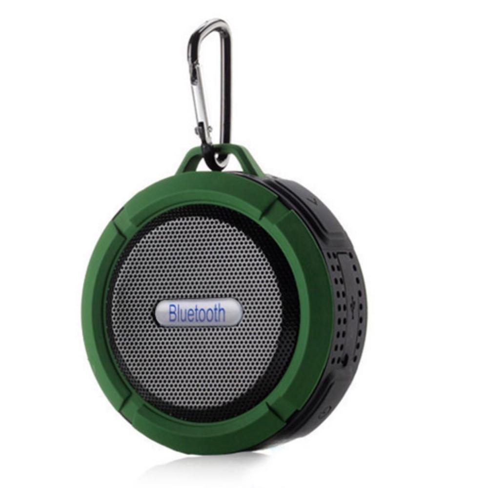 Image of   H20 OutDoor - Vandtæt Bluetooth Højtaler til Badet/udendørs - Grøn