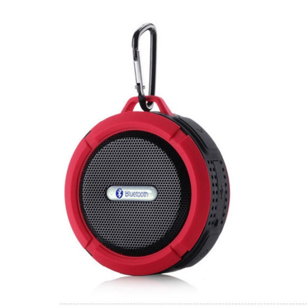 Image of   H20 OutDoor - Vandtæt Bluetooth Højtaler til Badet/udendørs - Rød