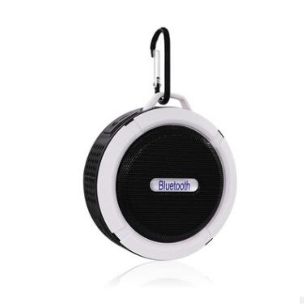 Image of   H20 OutDoor - Vandtæt Bluetooth Højtaler til Badet/udendørs - Sort/hvid