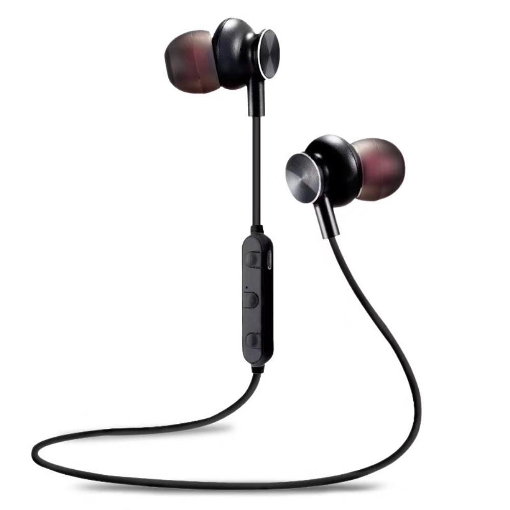 Billede af M6 Trådløse Bluetooth sports høretelefoner m/mic - Sort