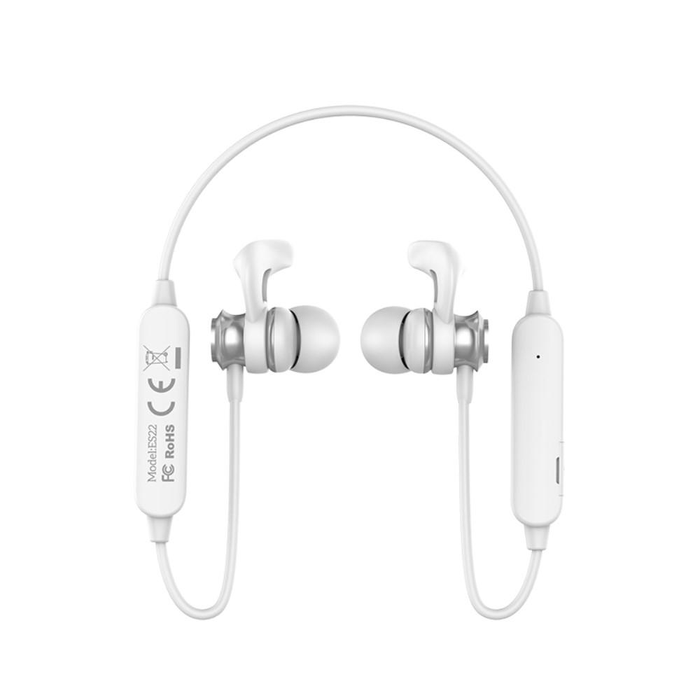 Image of   HOCO ES22 - SPORTS trådløse bluetooth høretelefoner - Hvid