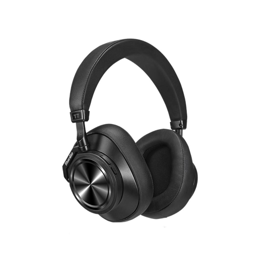 Billede af BLUEDIO T7 - Trådløse Bluetooth 5.0 Over-Ear Høretelefoner med Noise Cancelling & Ansigtsgenkendelse - Sort