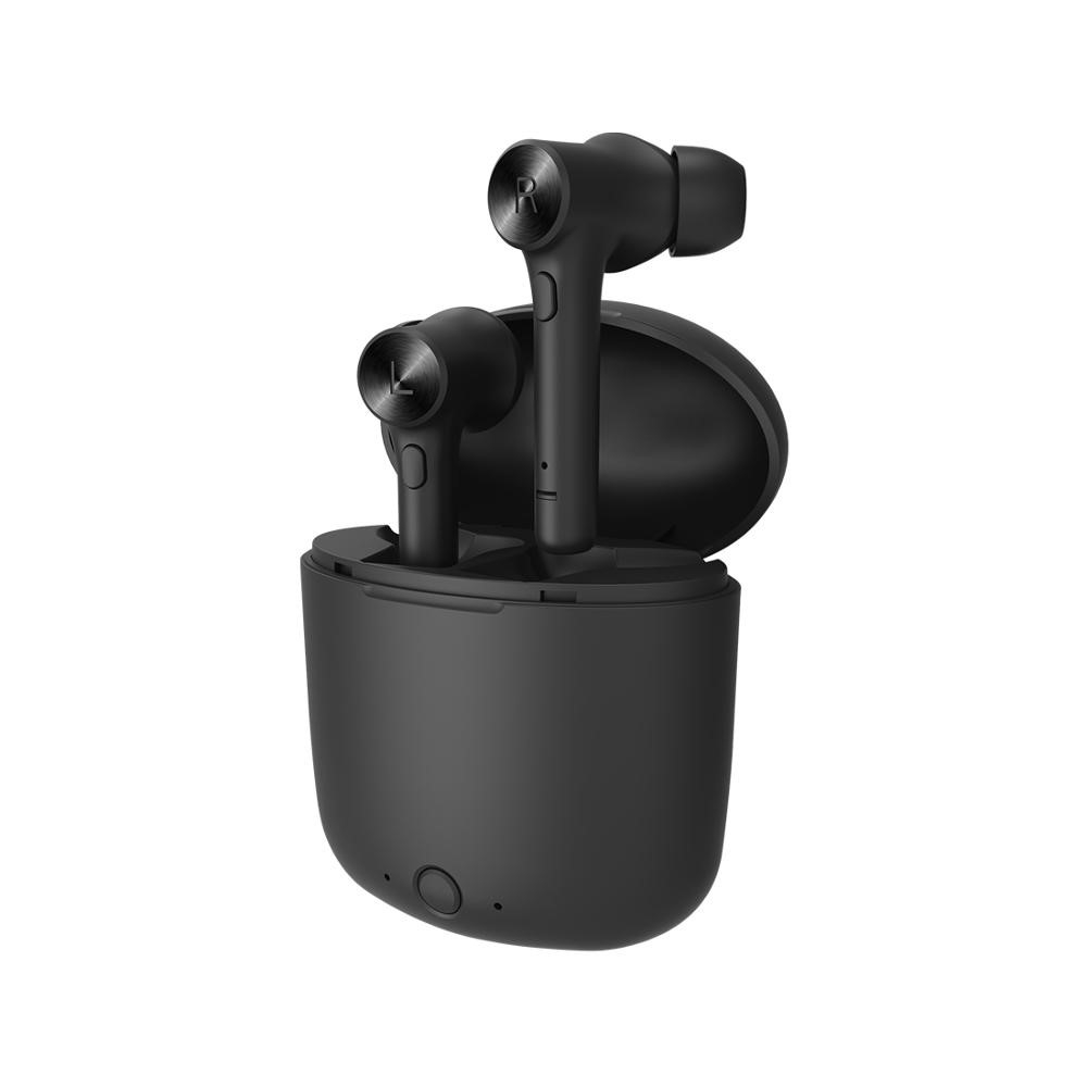 Billede af BLUEDIO HI - Trådløse Bluetooth 5.0 Sports Høretelefoner med opladerbox - Sort