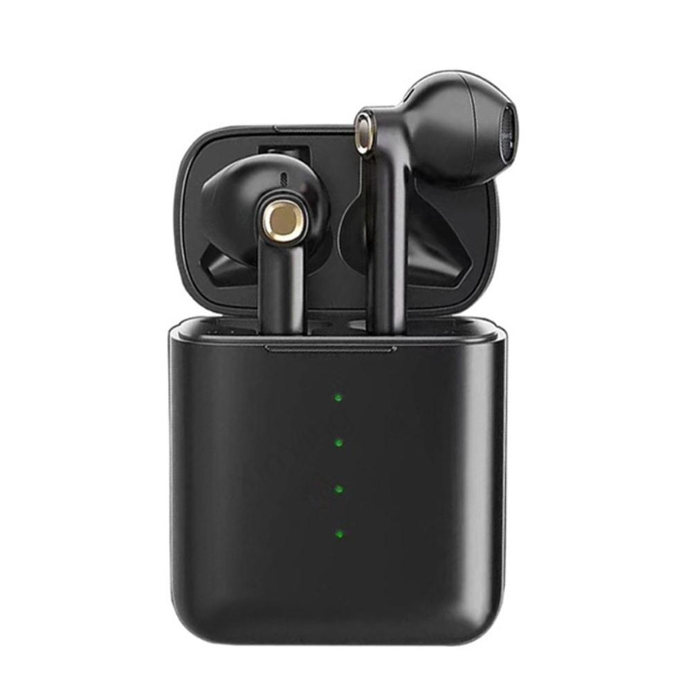 Billede af TRUE TWS - Trådløse Bluetooth V5.0 Høretelefoner med opladerbox - Sort