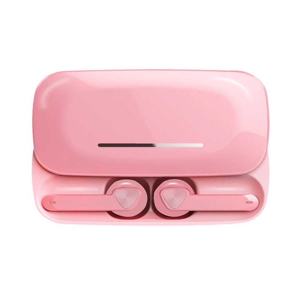 Billede af SOUND 6U - TWS In-Ear Trådløse høretelefoner med DSP Støjreducering - Inkl opladerbox - Pink