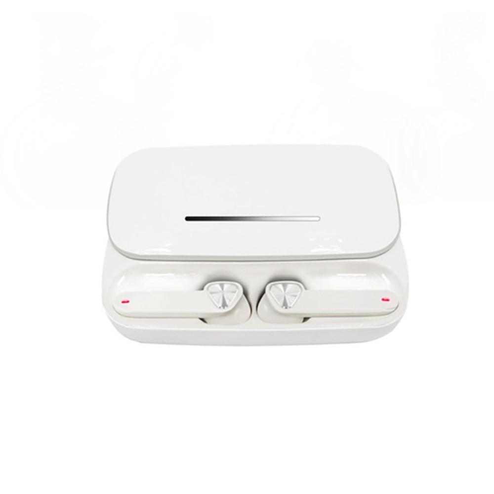 Billede af SOUND 6U - TWS In-Ear Trådløse høretelefoner med DSP Støjreducering - Inkl opladerbox - Hvid