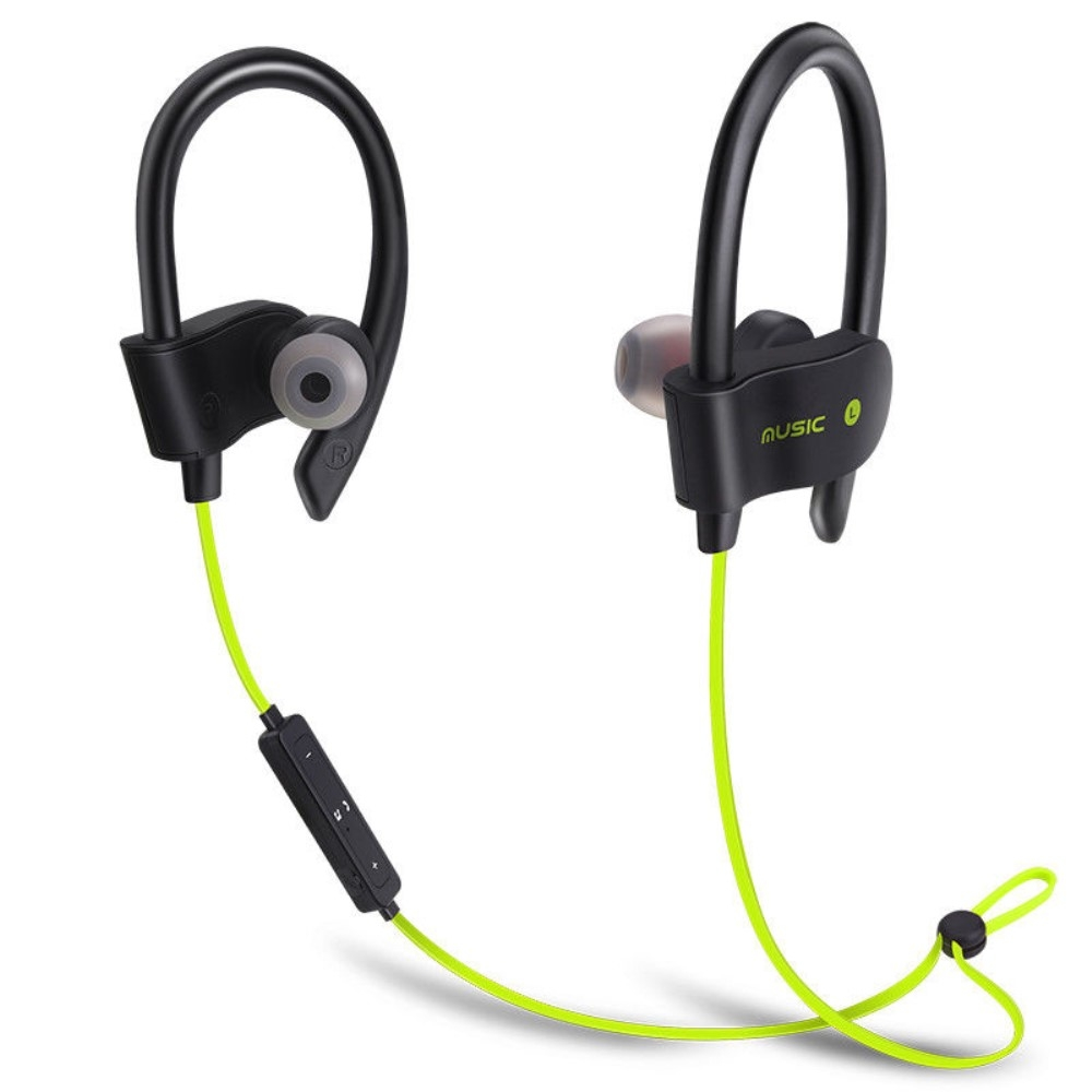 EARHOOK Sports Bluetooth høretelefoner - Grøn