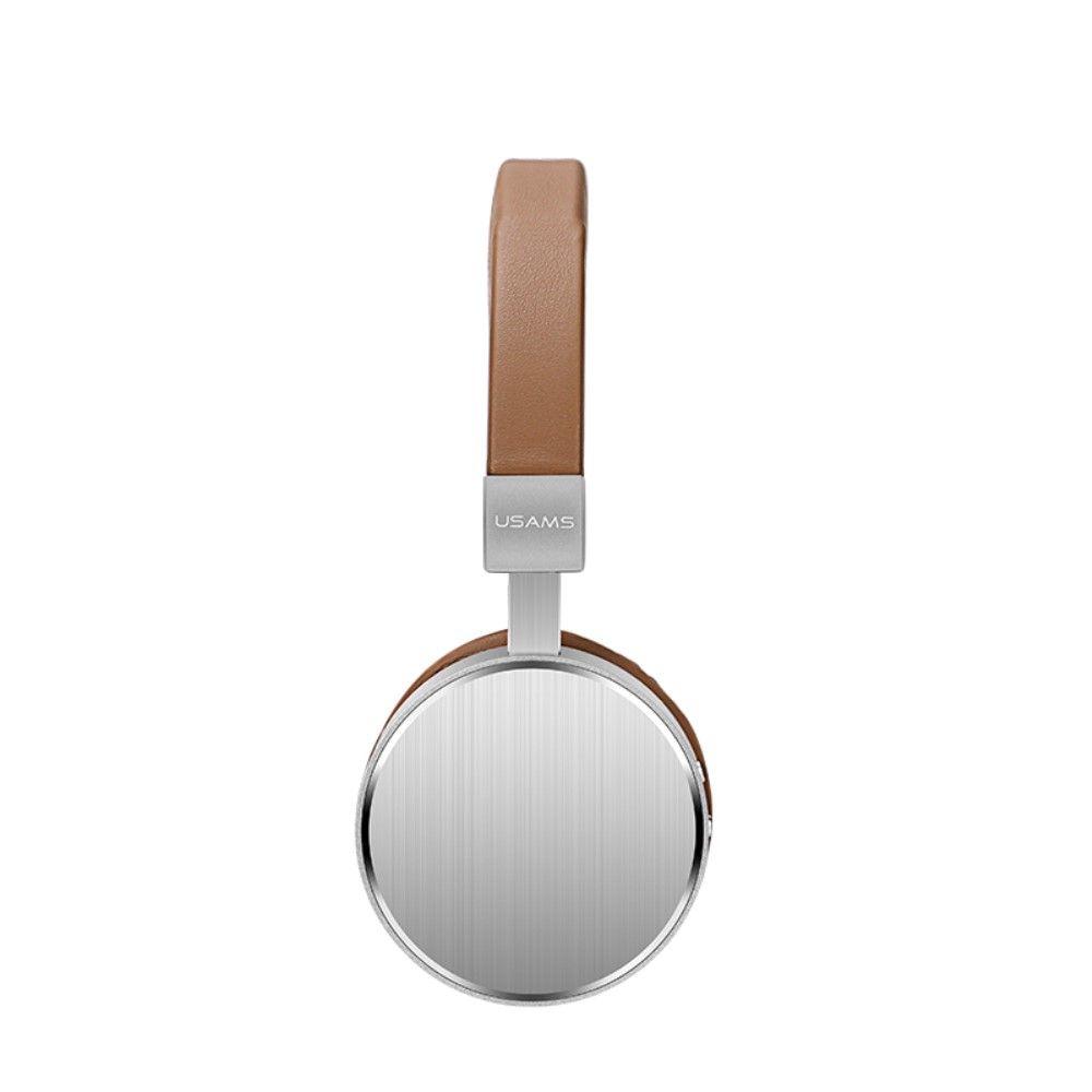 Image of   USAMS LH1 Trådløse høretelefoner Over-øre - Brun