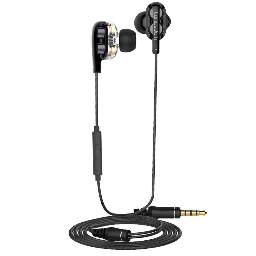 Image of   LANGSDOM In-Ear Dynamic Driver Høretelefoner - Sort