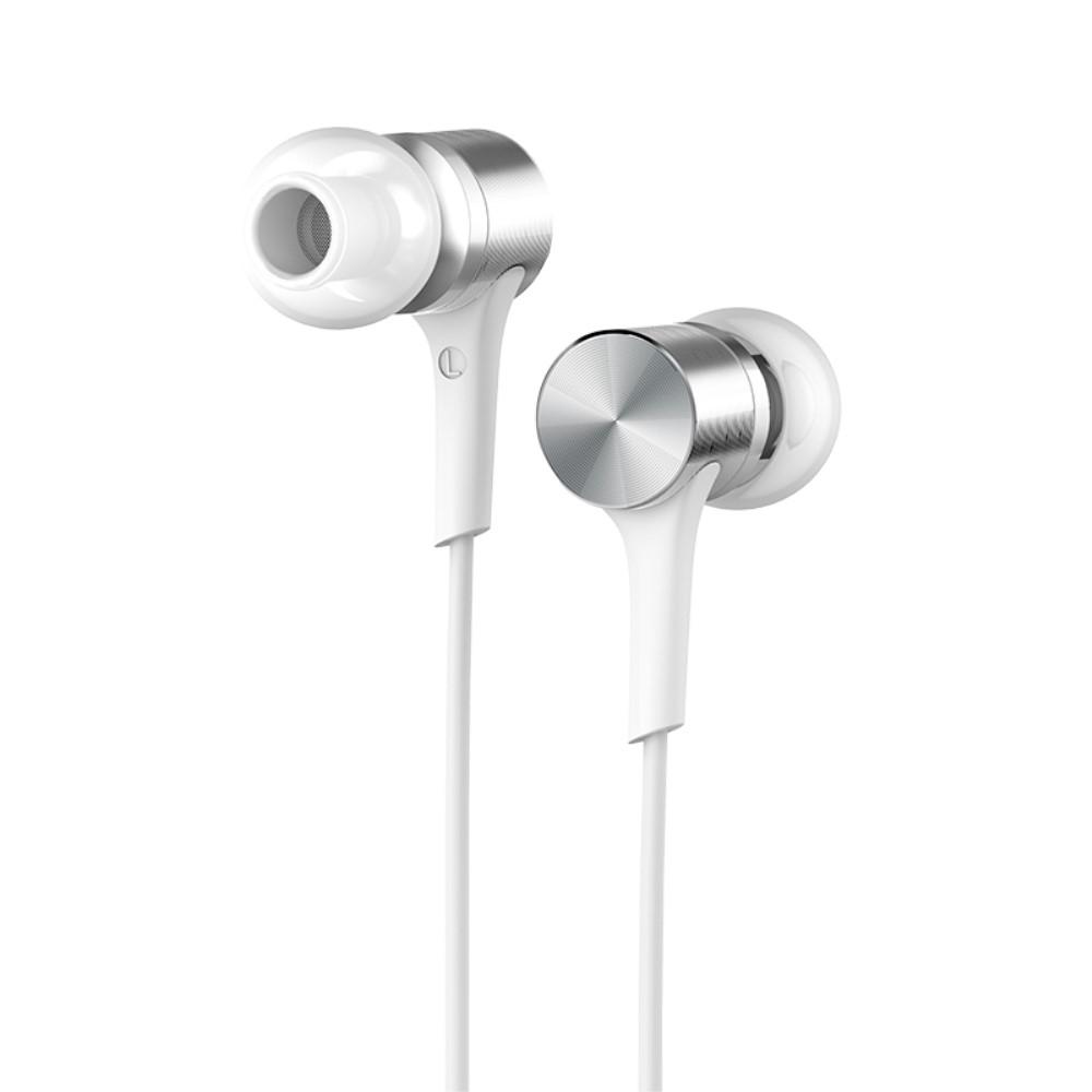 Image of   HOCO - Pure Excellent Høretelefoner 3.5mm m/mikrofon - Hvid