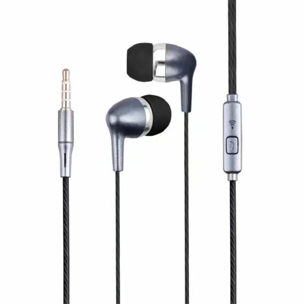 Billede af SWEET - In-Ear Høretelefoner med 3.5mm jack kabel - Med mikrofon & kontrolpanel - Sort