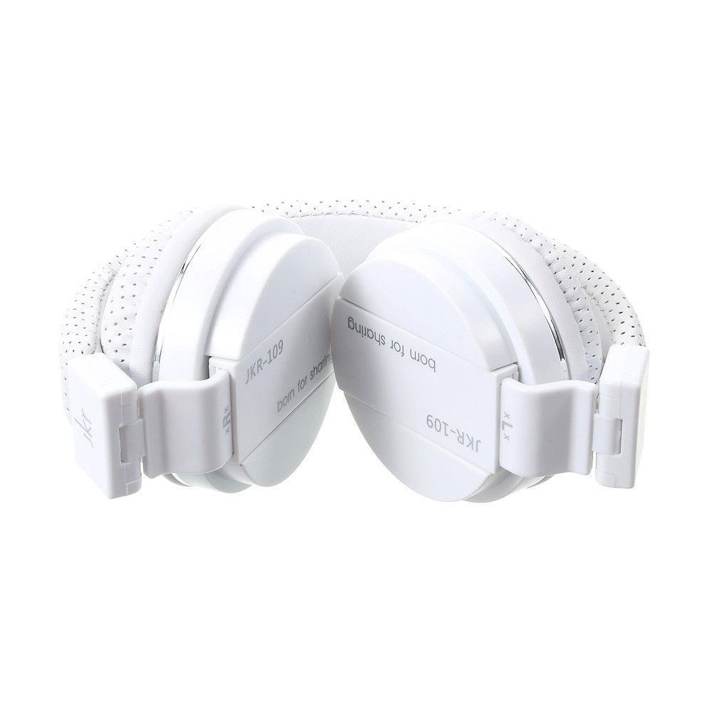 Image of   JKR over-øre høretelefoner med mikrofon - Hvid