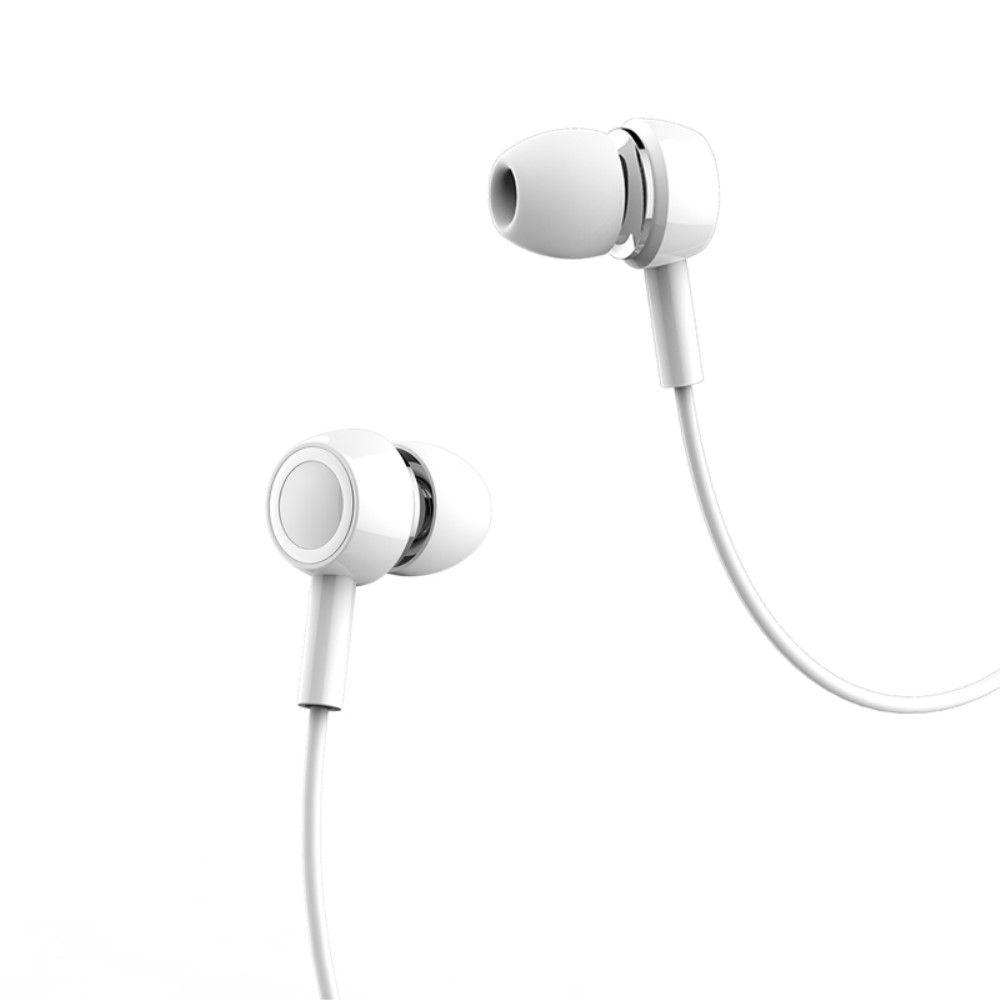 Image of   USAMS In-ear høretelefoner med mikrofon - Hvid