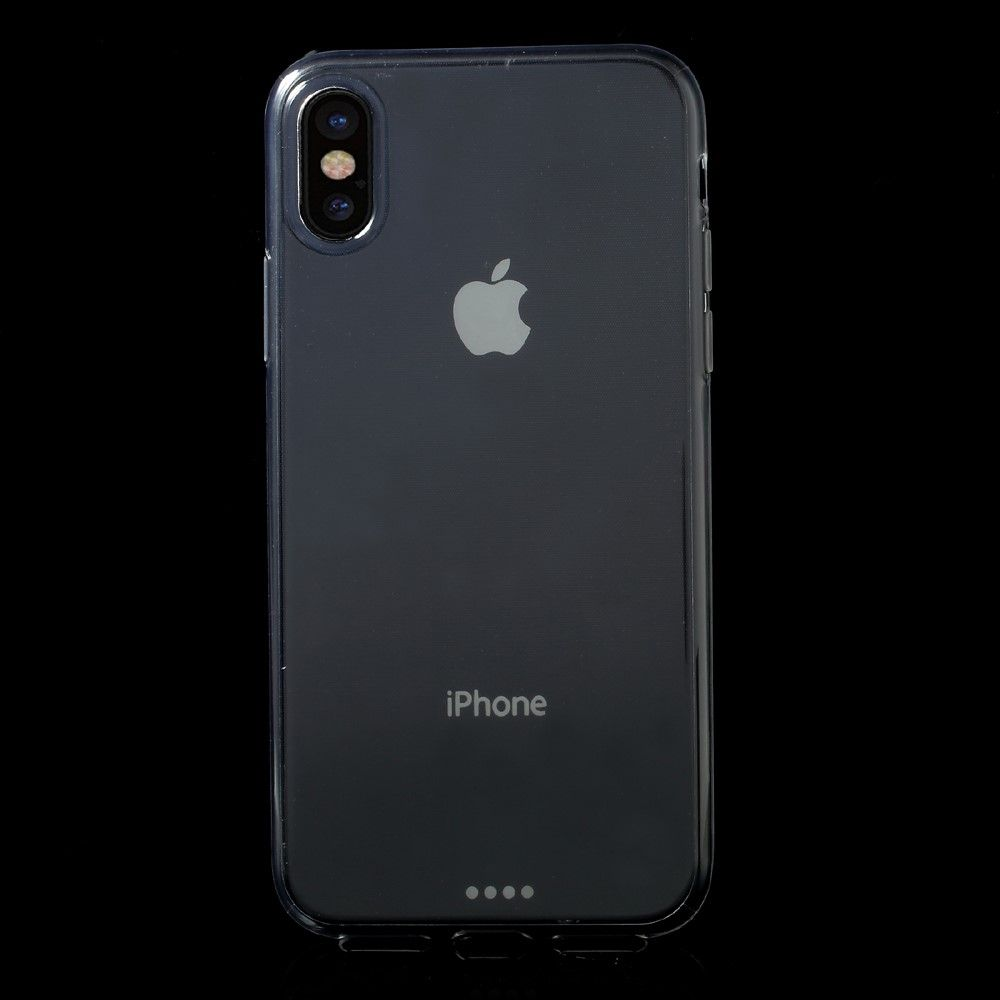 Image of   iPhone X - TPU blødt cover ultratynd - Transparent