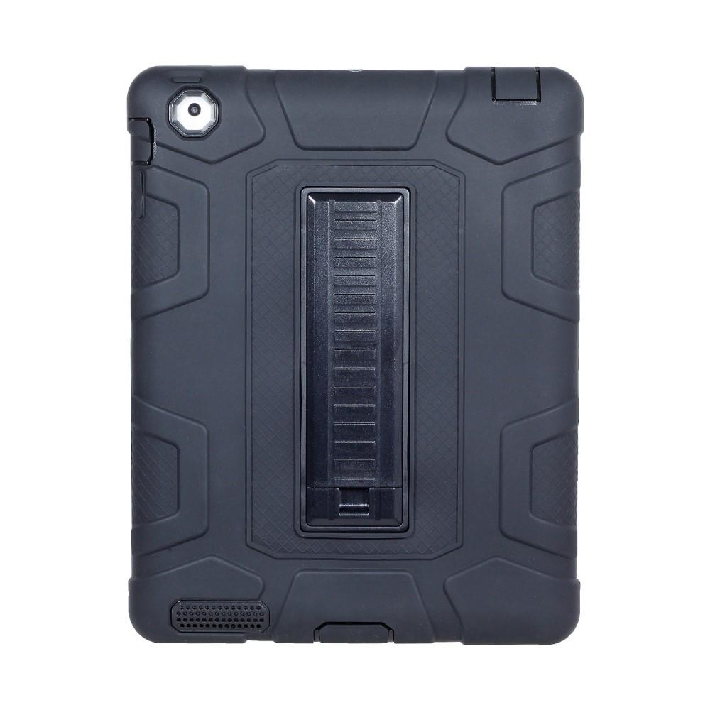 Image of   iPad 2/3/4 - Shockproof Hybrid cover - Sort