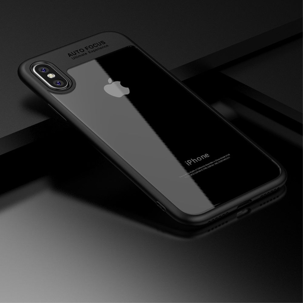 Image of   iPhone X - IPAKY PC+TPU cover - Sort