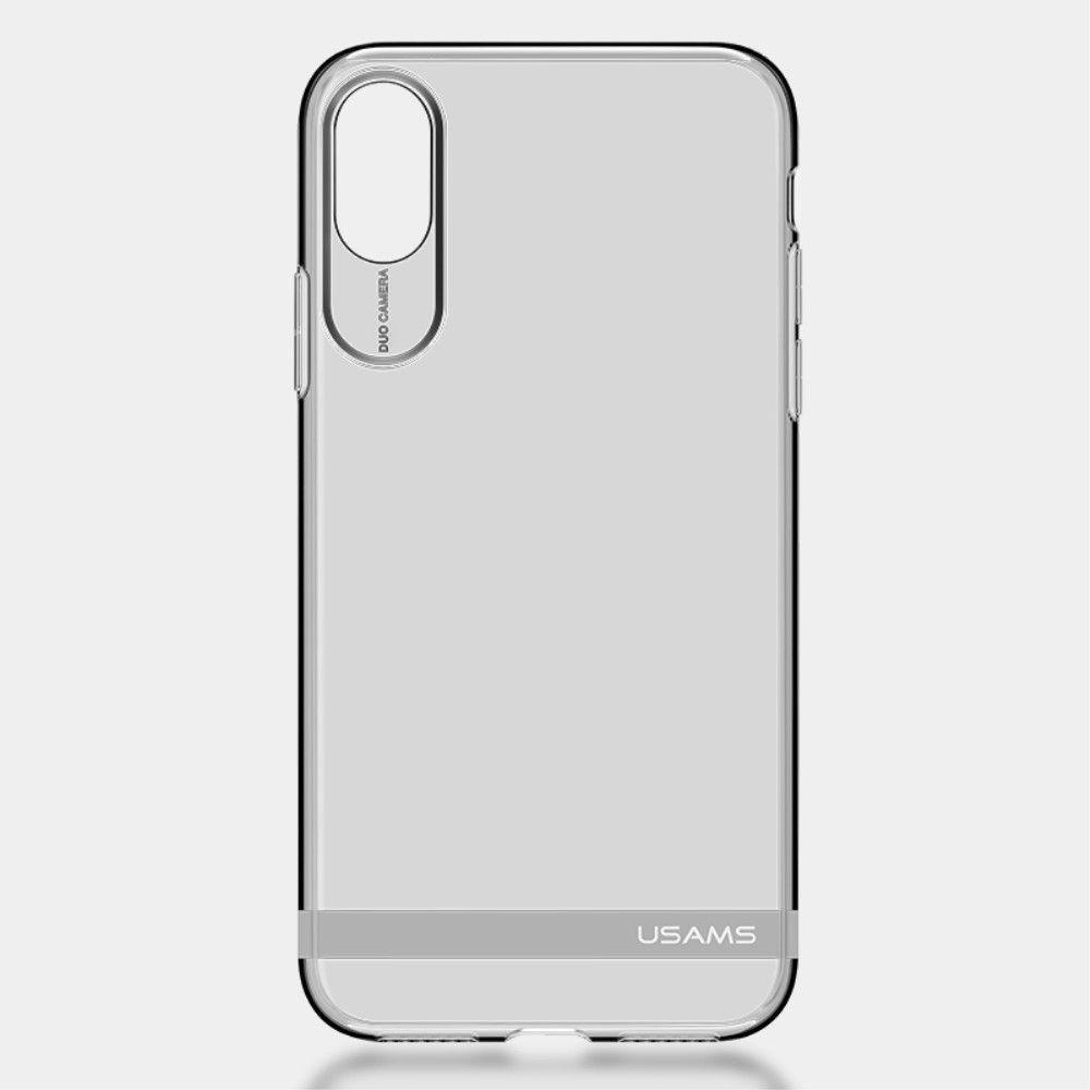 Image of   iPhone X - TPU blødt cover USAMS PRIMARY - Sølv
