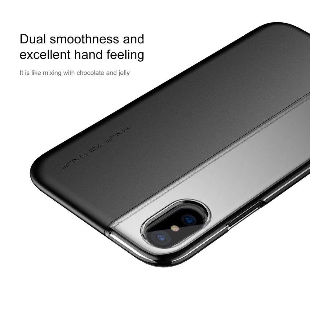 Image of   iPhone X - BASEUS TPU/PC hybrid cover - Sort