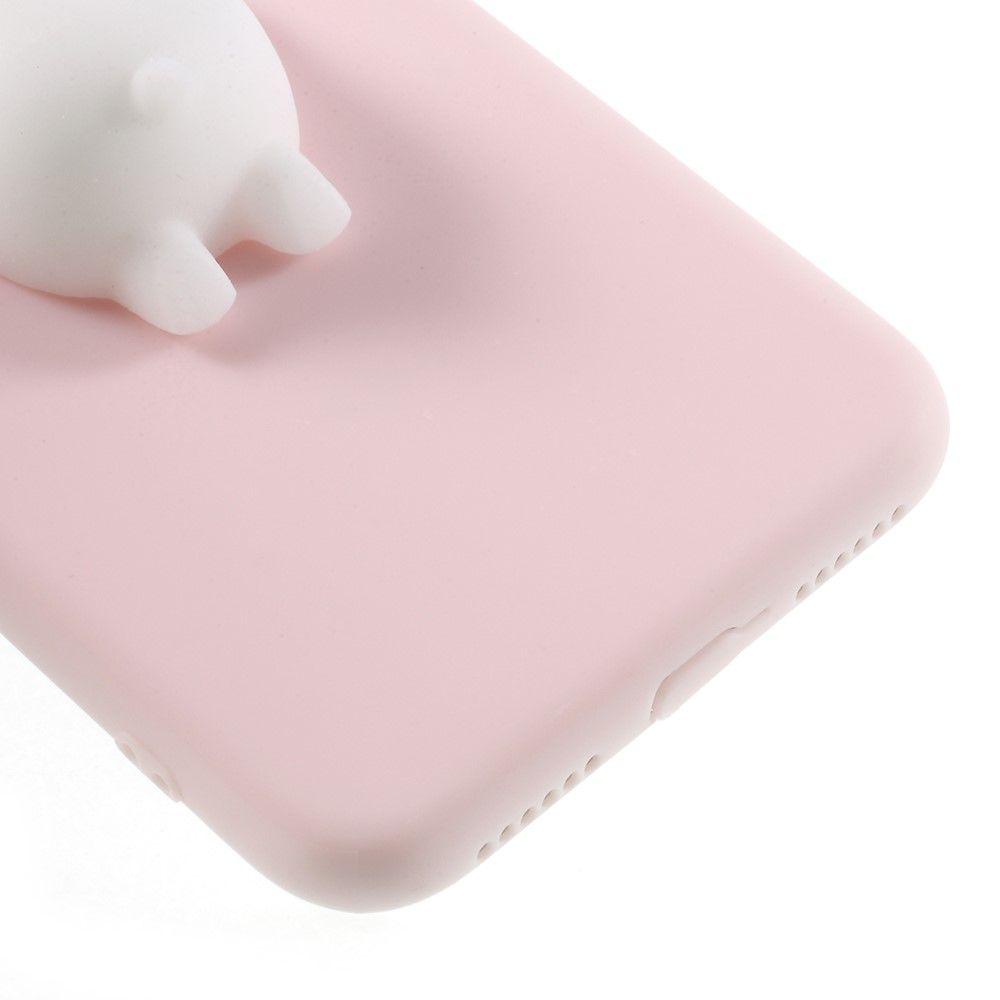 Image of   iPhone X - Squishy 3D Toy / Isbjørn - Hvid