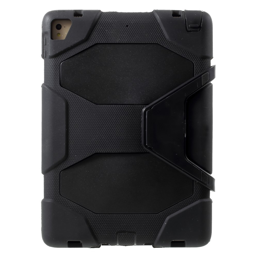 Image of   iPad 9.7 (2017/2018) - Military Duty Hybrid cover - Sort