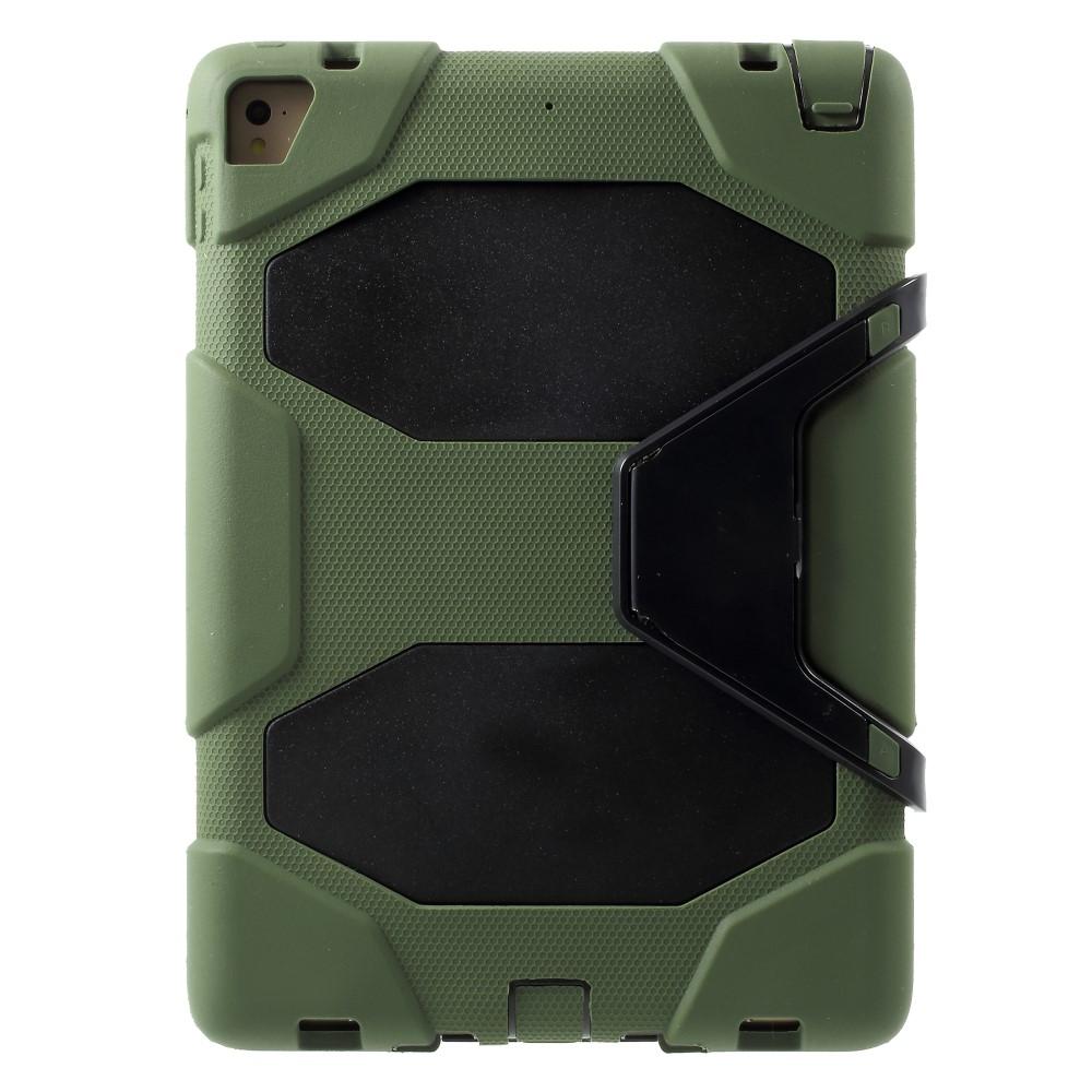 Image of   iPad 9.7 (2017/2018) - Military Duty Hybrid cover - Grøn