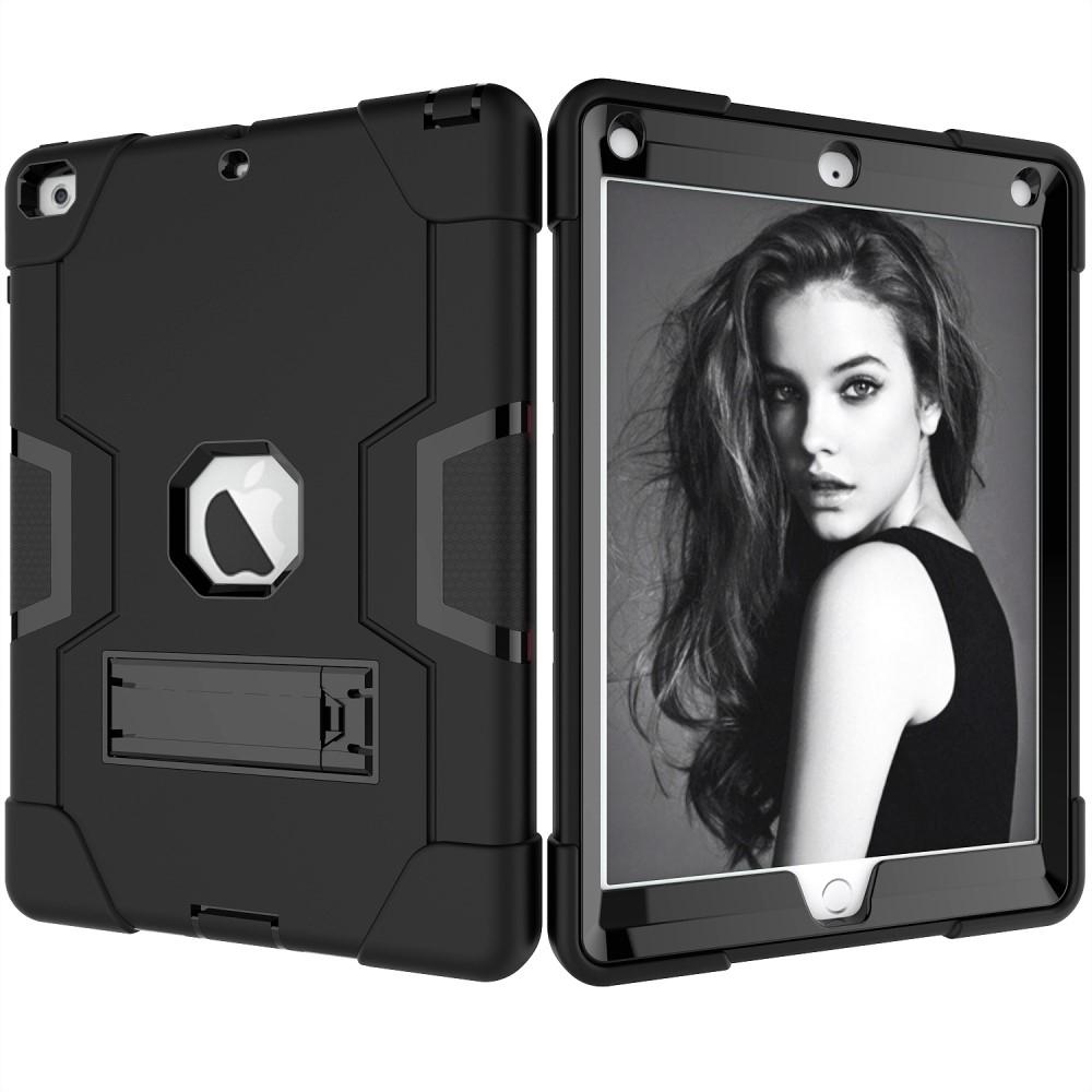 Image of   iPad 9.7 (2017/2018) - Hybrid Shockproof cover/etui - Sort