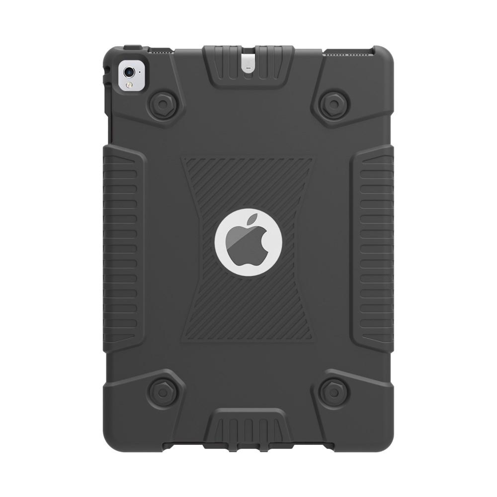 Image of   iPad 9.7 (2017/2018) / Air2 / Air 1 - Heavy Duty gummi cover - Sort