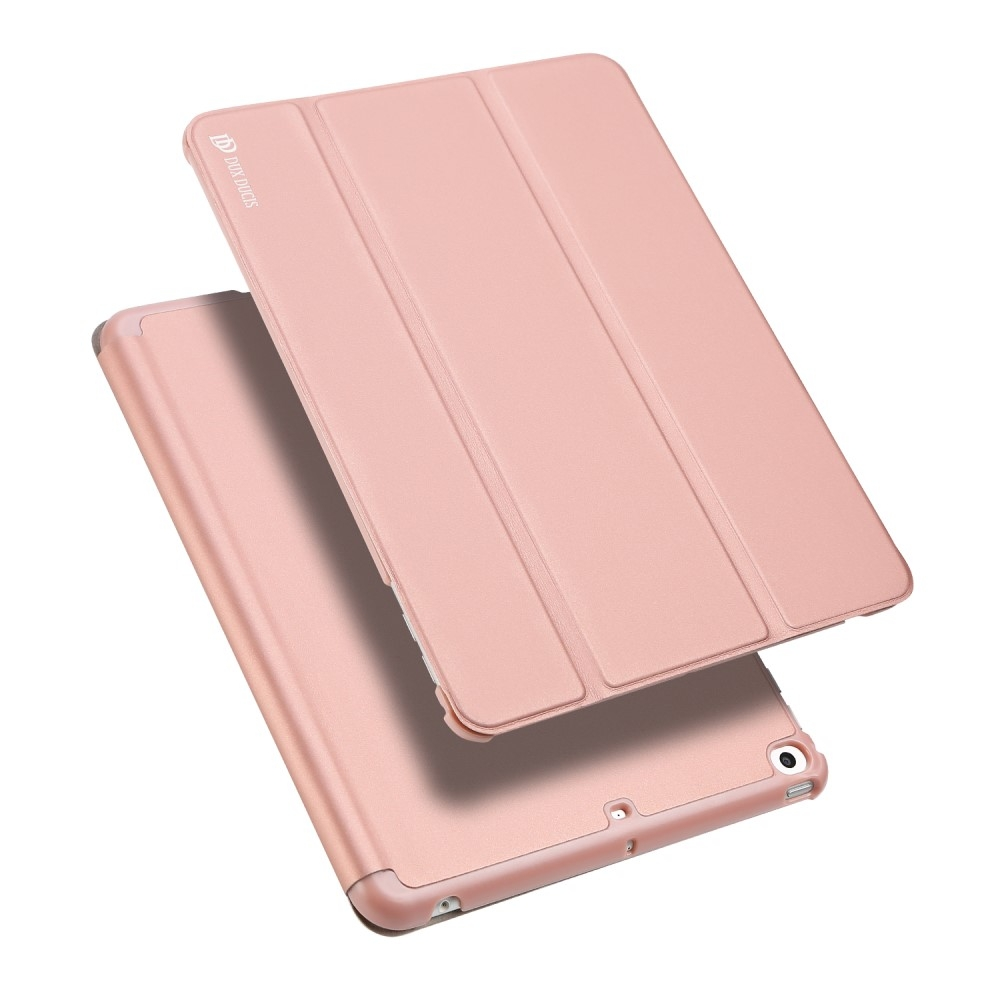 Image of   iPad 9.7 (2017 / 2018) - DUX DUCIS Skin Pro læder cover m/Apple Pen holder - Rosa