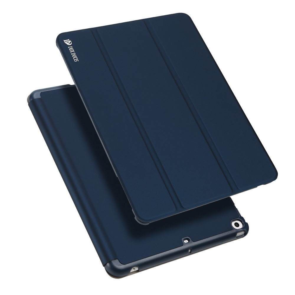 Image of   iPad 9.7 (2017 / 2018) - DUX DUCIS Skin Pro læder cover m/Apple Pen holder - Blå