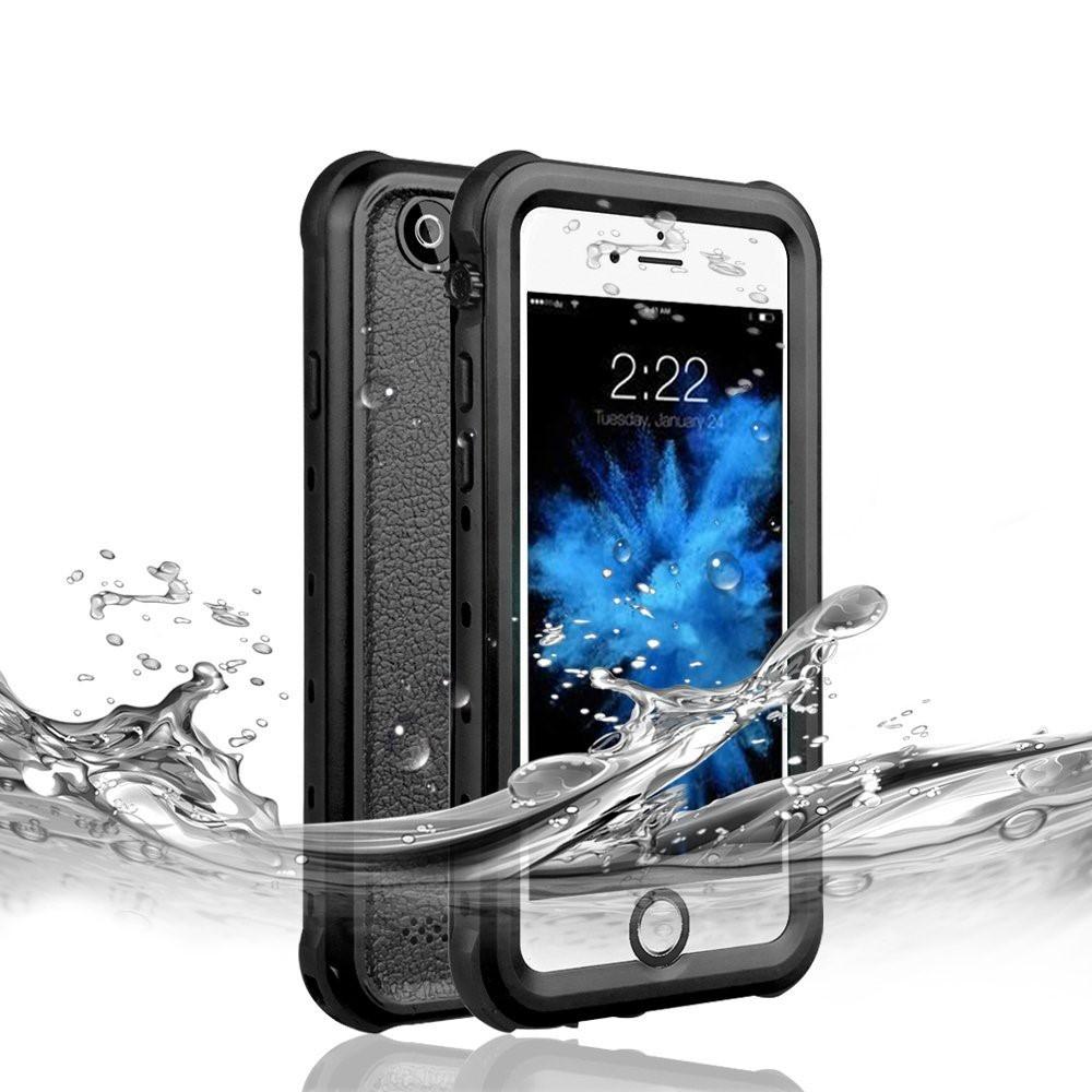 Image of   iPhone 6/6s Plus - REDPEPPER Dot vandtæt cover/etui - Sort