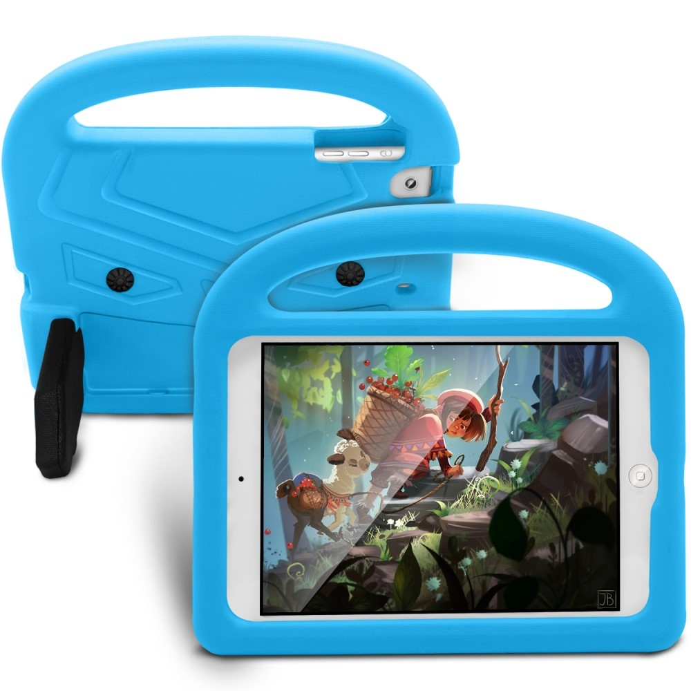 Image of   iPad Mini 4/3/2/1 - EVA shockproof børnevenligt cover - Blå