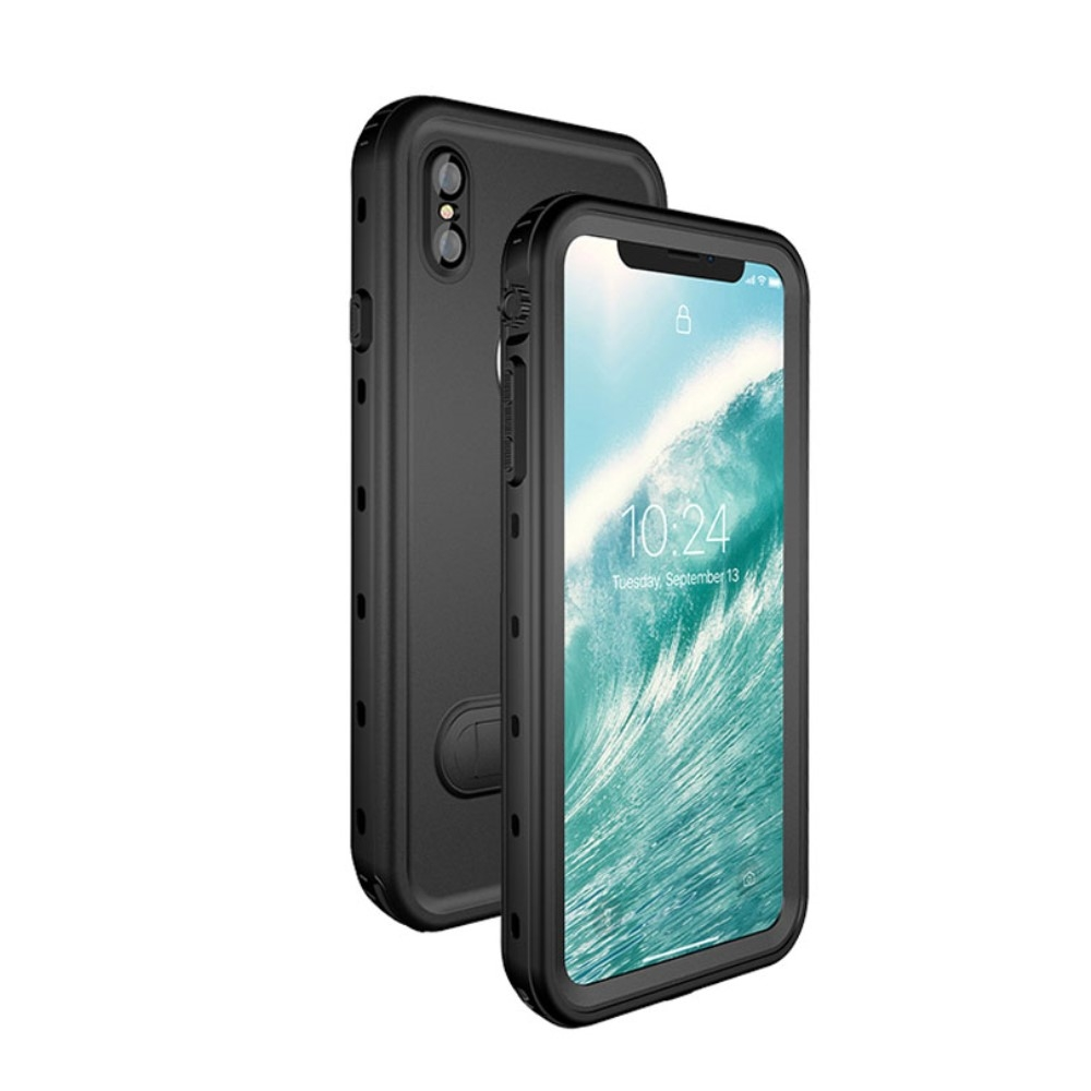 Image of   iPhone XS Max - REDPEPPER Dot+ støvtæt/vandtæt cover - Sort