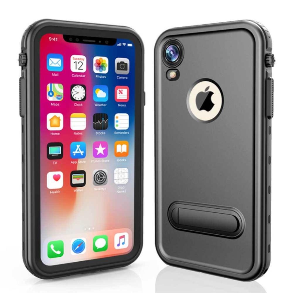 Image of   iPhone XR - REDPEPPER Dot+ støvtæt/vandtæt cover - Sort