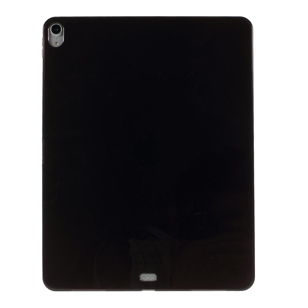 Image of   iPad Pro 12.9 (2018) - Shockproof gummi cover/etui - Sort