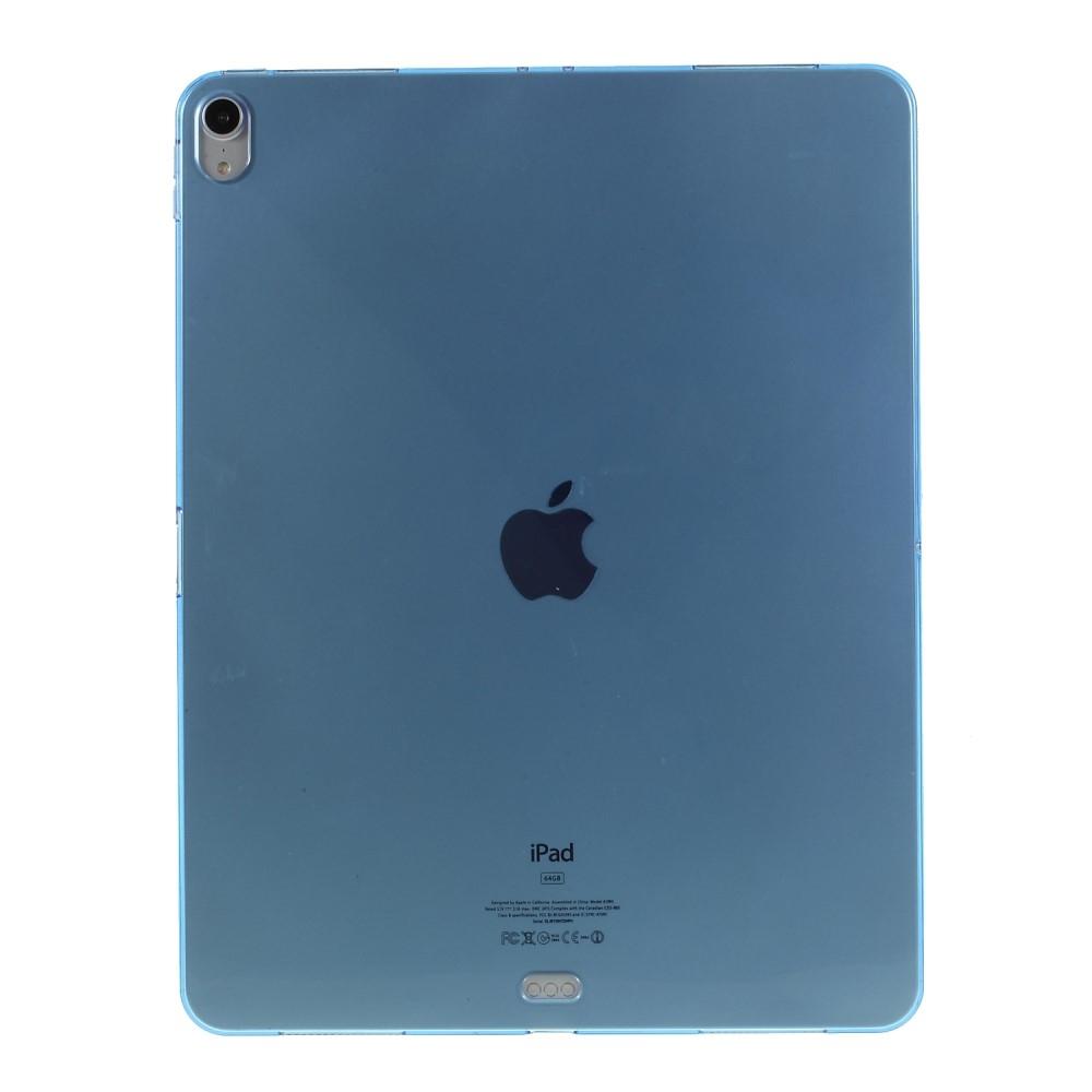 Image of   iPad Pro 12.9 (2018) - Shockproof gummi cover/etui - Blå