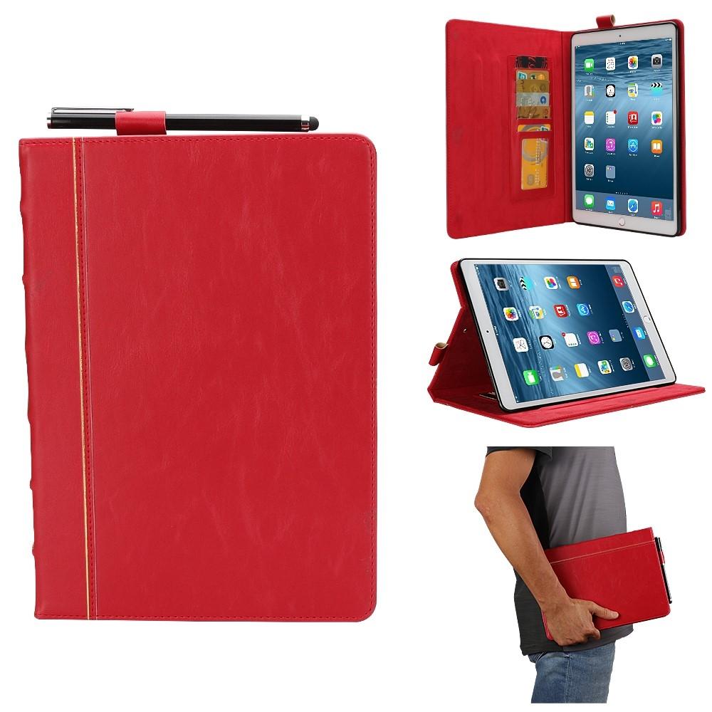 Image of   iPad Air 10.5 (2019) / Pro 10.5 (2017) - Vintage Læder Cover - Rød