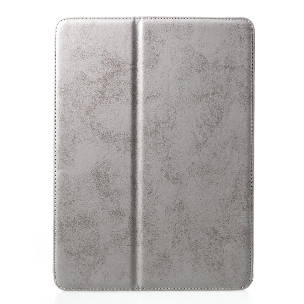 Image of   iPad Air 10.5 (2019) / Pro 10.5 (2017) - Læder Cover m/ touch pen slot - Grå