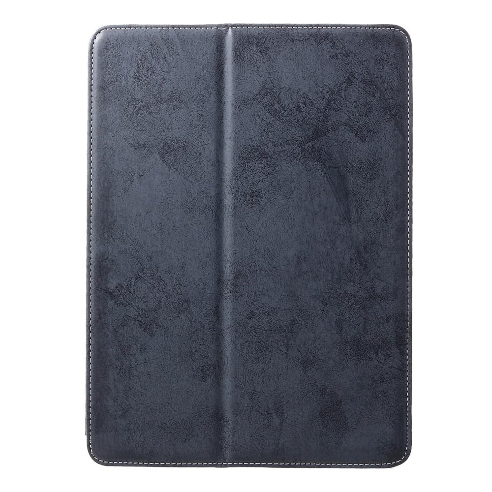 Image of   iPad Air 10.5 (2019) / Pro 10.5 (2017) - Læder Cover m/ touch pen slot - Mørkeblå