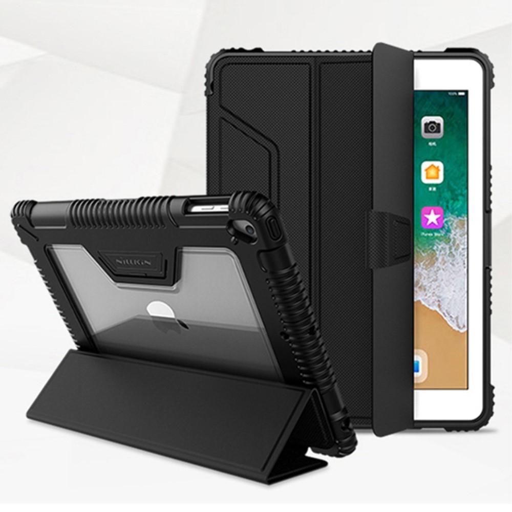 Image of   iPad 9.7 (2017/2018) - NILLKIN shockproof Hybrid cover - Sort