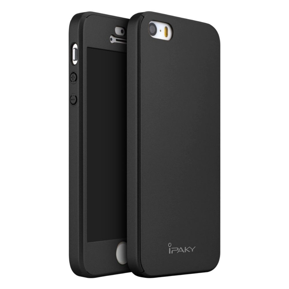 Image of   iPhone 5/5s/SE - IPAKY PC Hardcover - Sort