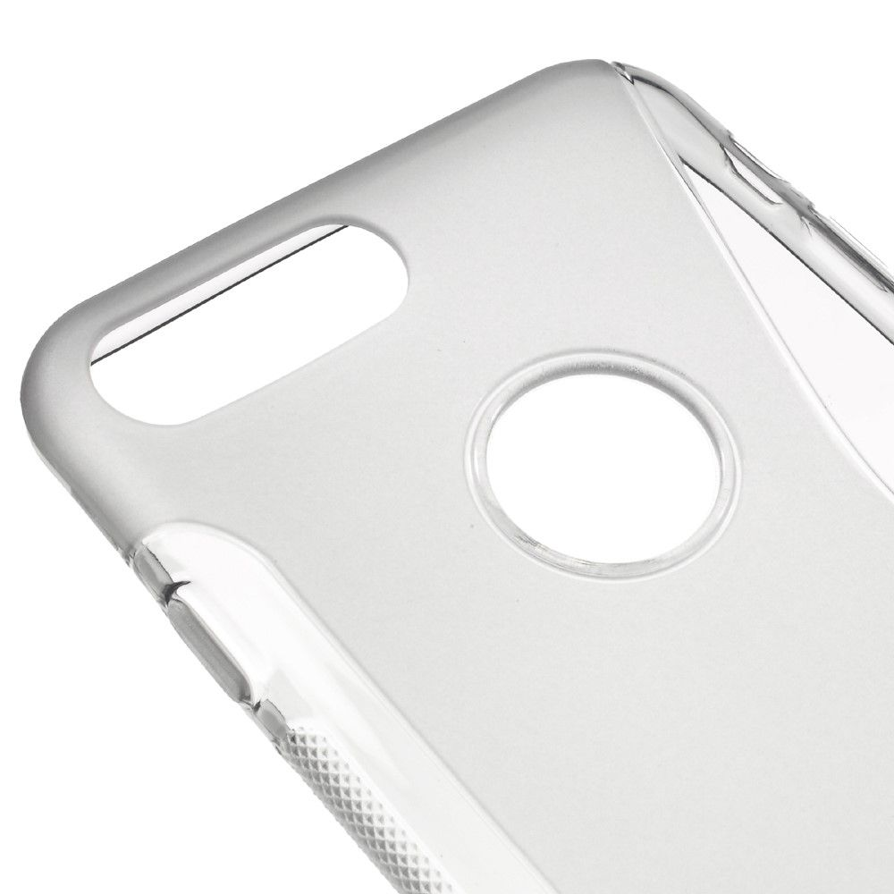 iPhone 8 Plus/7 Plus - S-Line design TPU cover - Grå