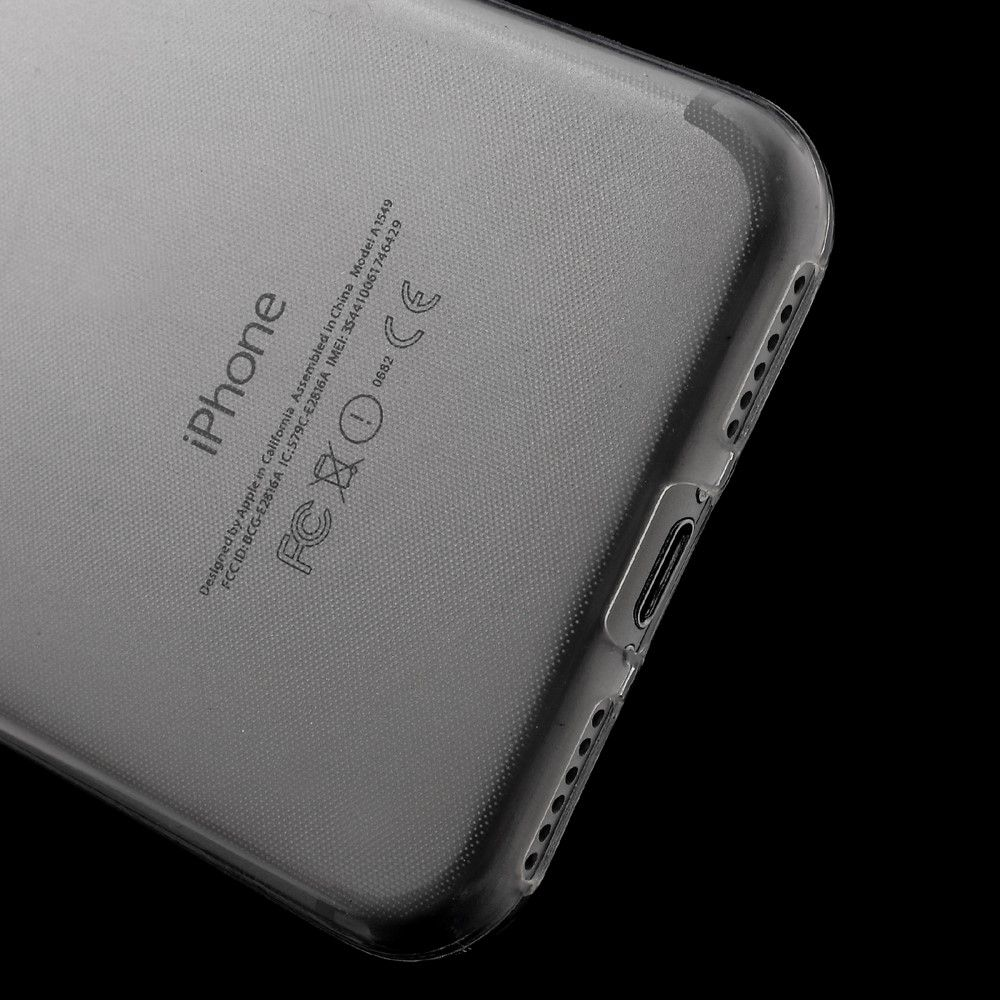 Image of   iPhone 8/7 - Ultratynd TPU cover/etui - Transparent