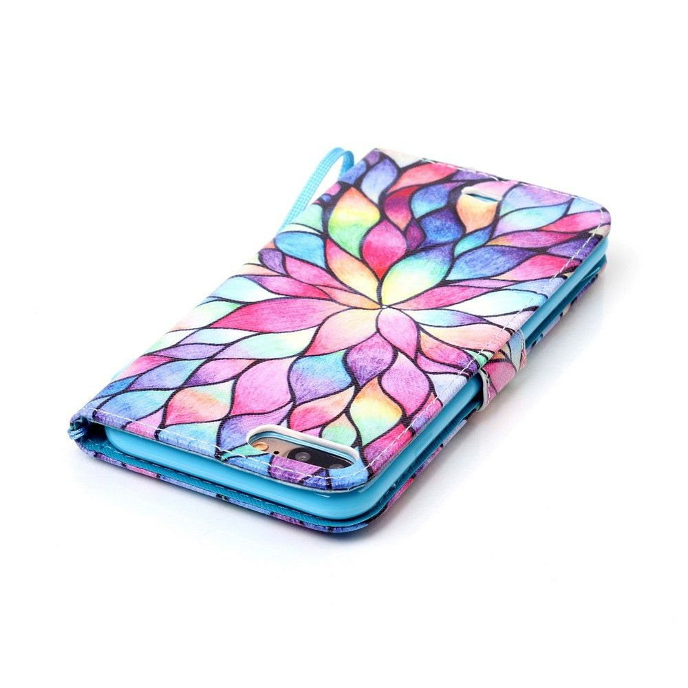 iPhone 8 Plus/7 Plus - Cover / Pung - Multicolor