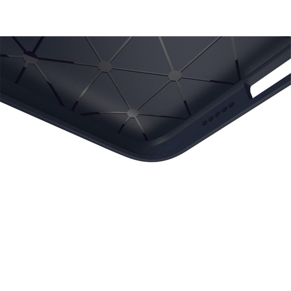 Image of   iPhone 8/7 - IPAKY TPU cover børstet design - Mørkeblå